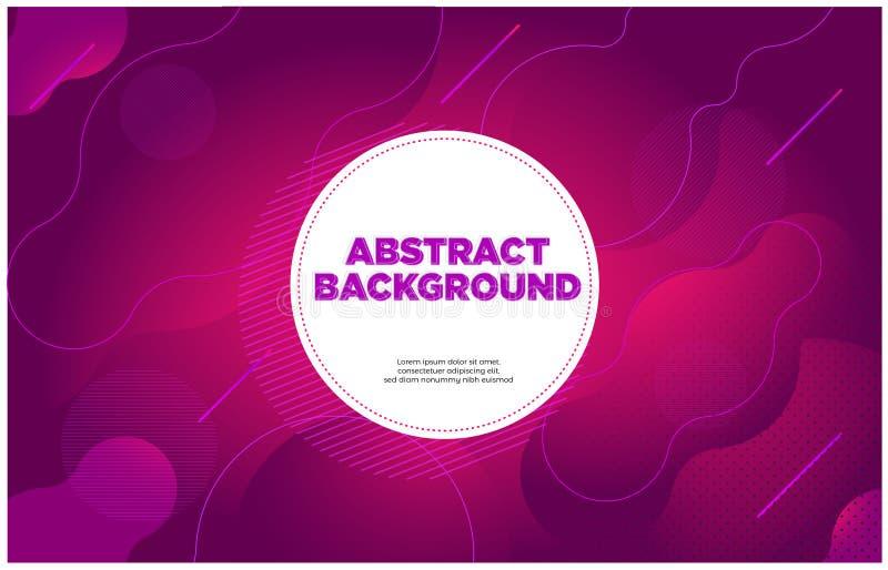 Purpurrote Magenta des abstrakten Fahnenhintergrundes lizenzfreie abbildung