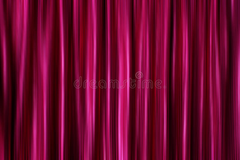 Purpurrote seidige Satintrennvorhänge stockfoto