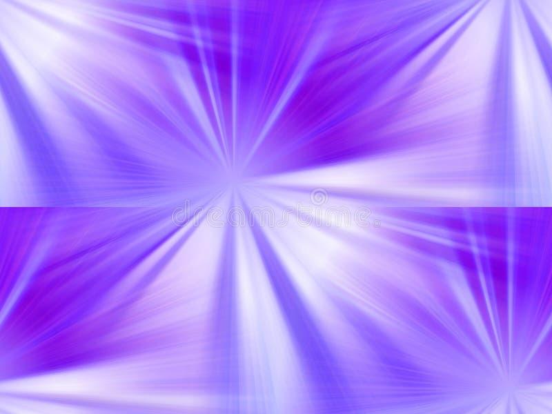 Purpurrote Sterne stock abbildung