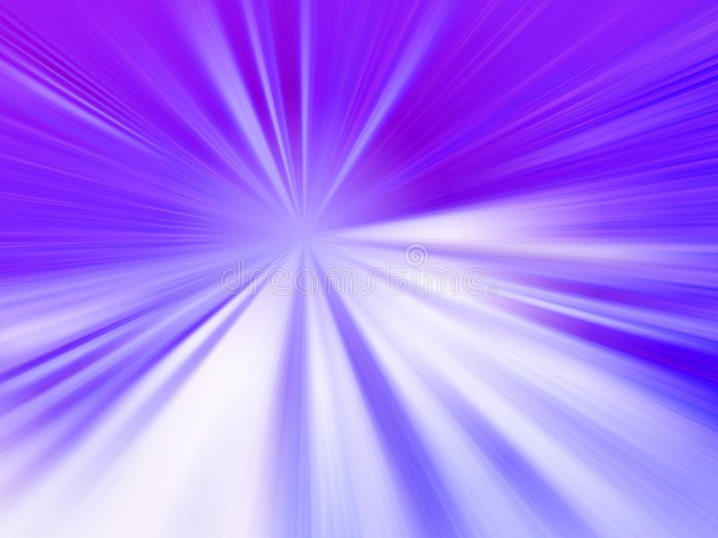 Purpurrote Strahlen lizenzfreie abbildung