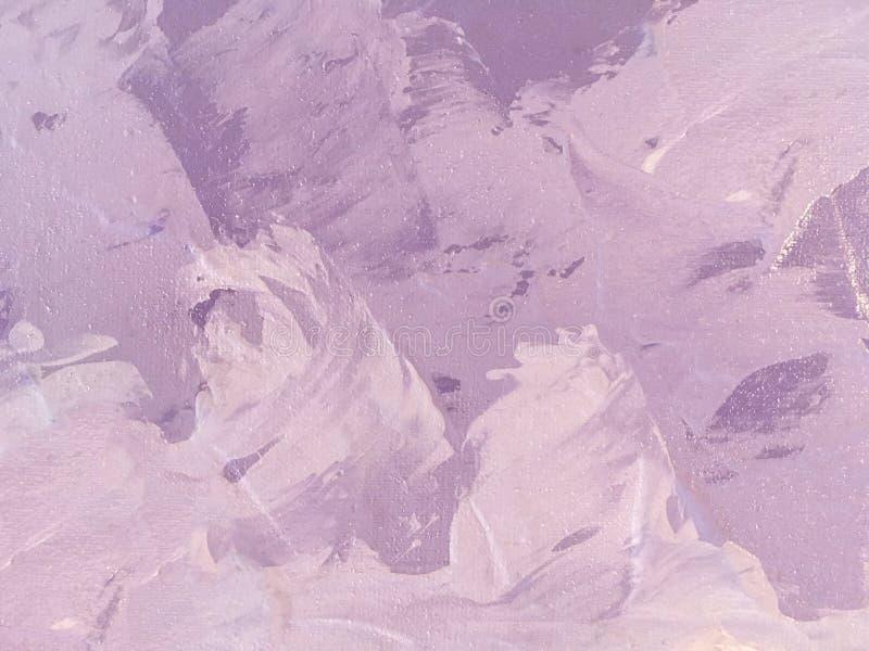 Purpurrote und lila Farbe des Hintergrundes der abstrakten Kunst lizenzfreie abbildung