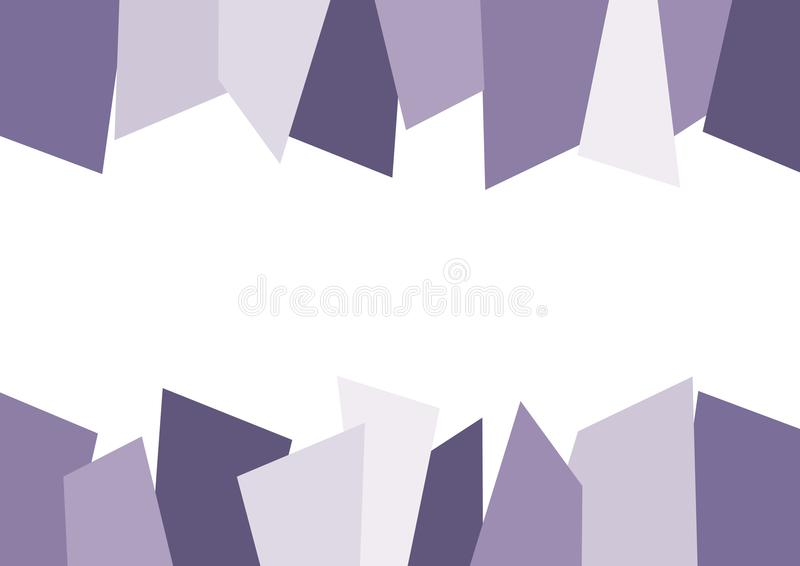 Purpurroter abstrakter gezackter Hintergrund vektor abbildung