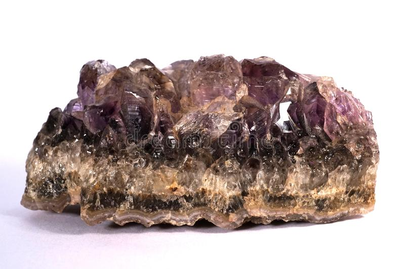Purpurroter Amethyst stockfotos