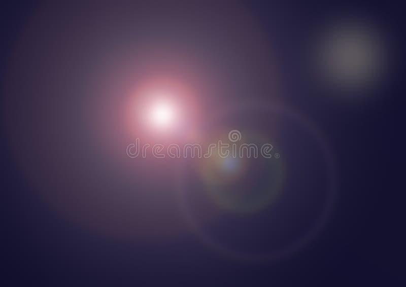 Purpurroter Aufflackern Hintergrund stockfotografie