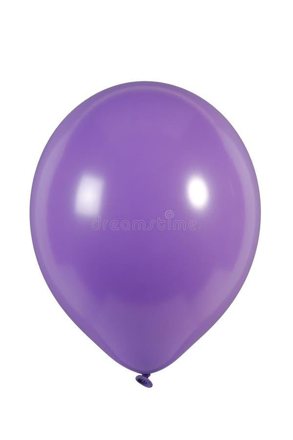 purpurroter Ballon lizenzfreie stockfotografie