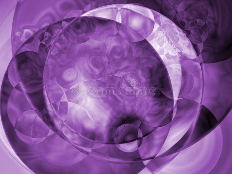 Purpurroter Dunst vektor abbildung