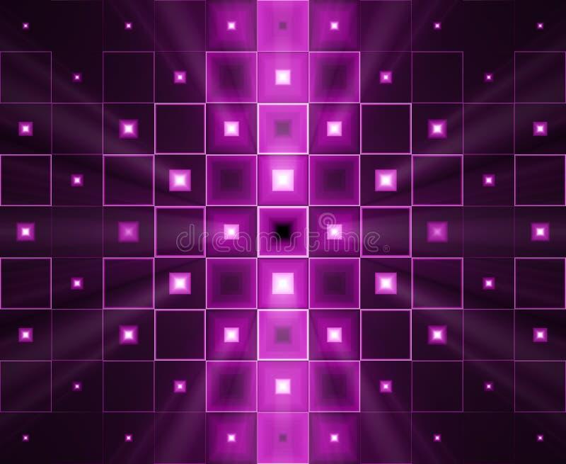 Purpurroter heller Hintergrund lizenzfreie abbildung