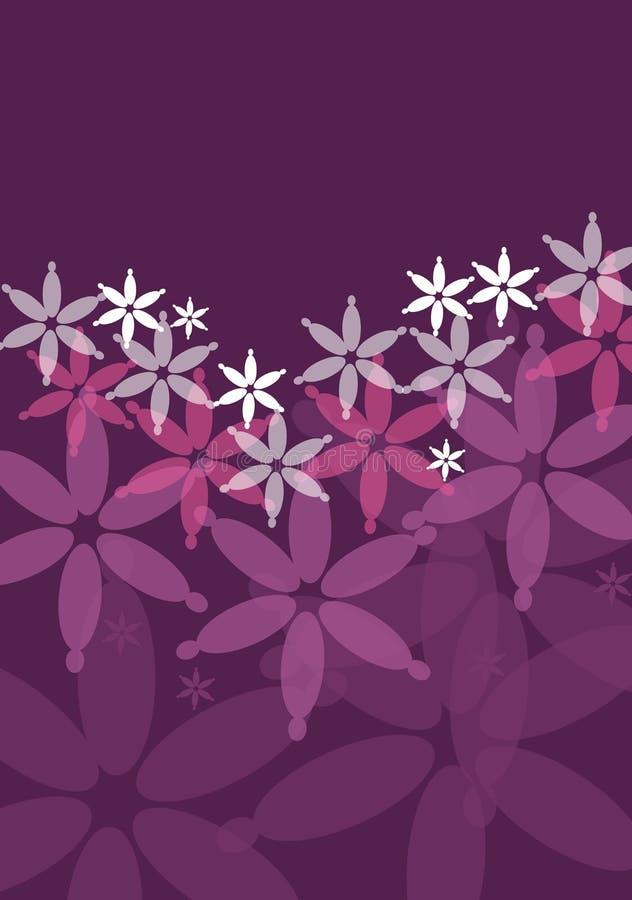 Purpurroter Hintergrund stock abbildung