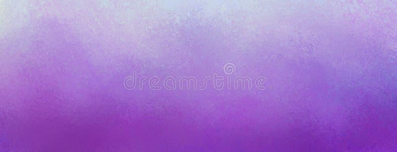 Purpurroter Hintergrund der Weinlese mit beunruhigter hellpurpurner Beschaffenheit und Pastellgrenzdesign lizenzfreie abbildung