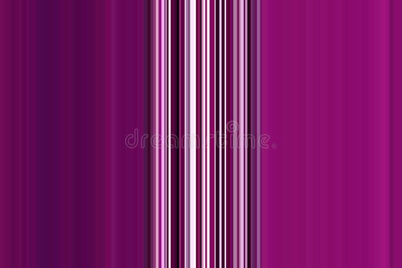 Purpurroter Hintergrund Kunstdesignmuster Abstrakte Illustration des Funkelns mit hellem Steigungsdesign Bunte nahtlose Streifen stock abbildung