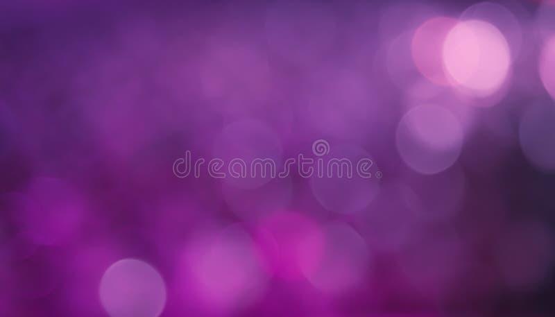 Purpurroter lila Steigung Bokeh Hintergrund stockfoto
