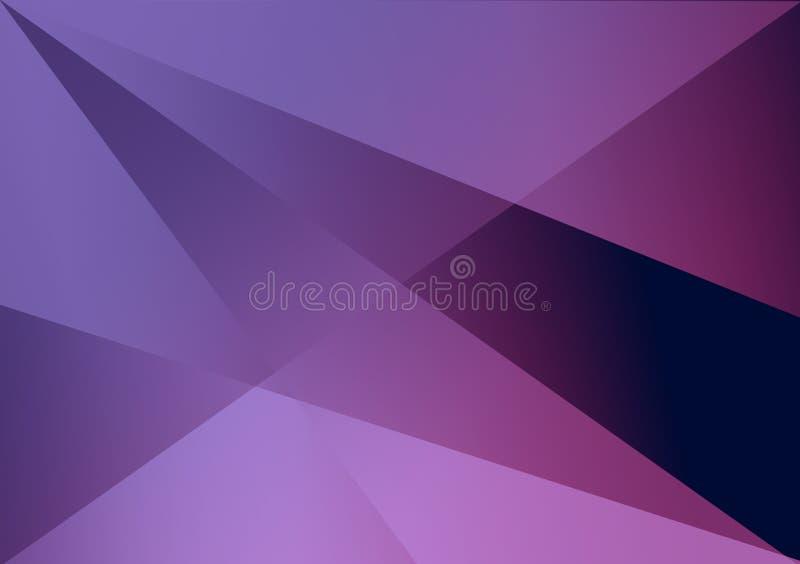 Purpurroter linearer Formhintergrund-Steigungshintergrund stock abbildung