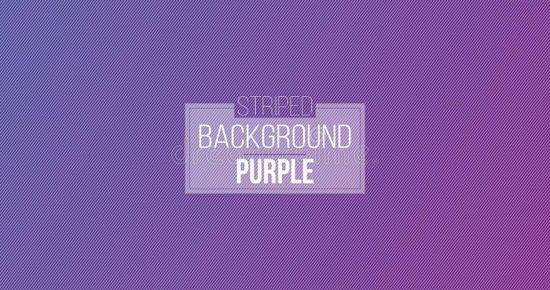 Purpurroter minimaler Entwurfsstreifen und diagonale Linien Muster der Zusammenfassung auf purpurrotem Hintergrund und Beschaffen stock abbildung