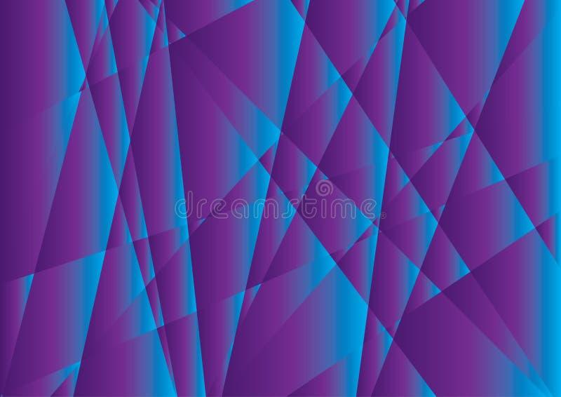 Purpurroter polygonaler abstrakter Hintergrund, Beschaffenheitsdesign, Vektor stock abbildung