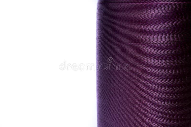 Purpurroter Thread stockfotos