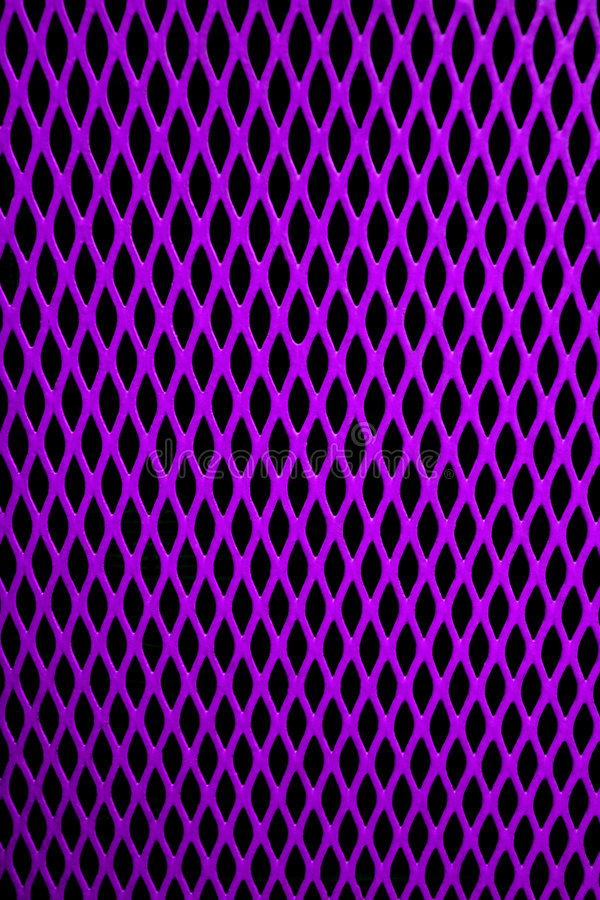 Purpurrotes Ineinander greifen stockbild