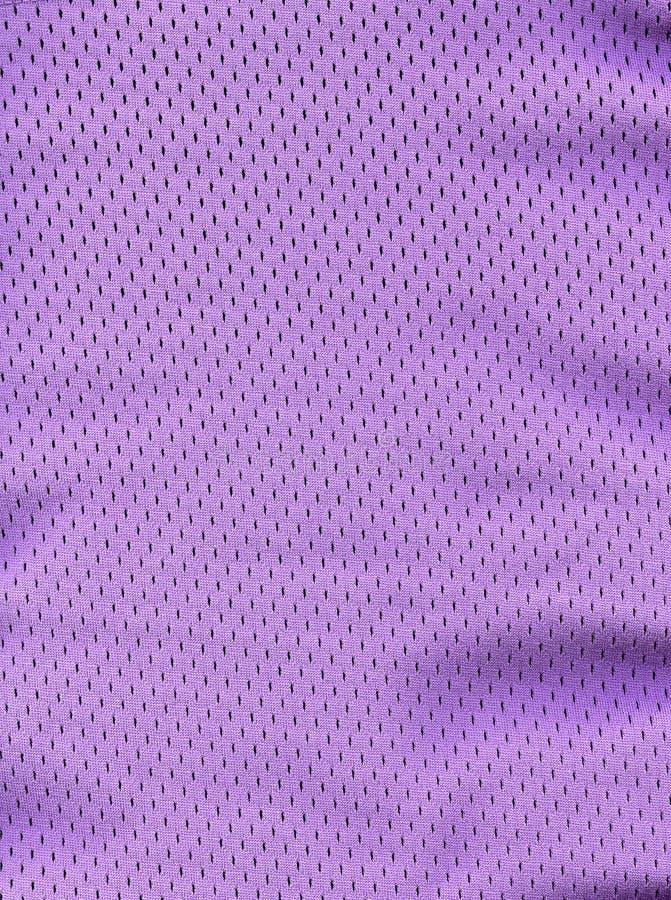 Purpurrotes Ineinander greifen-Gewebe lizenzfreie stockfotografie