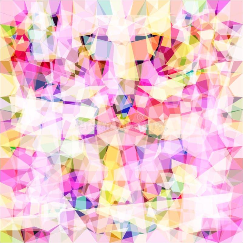 Purpurrotes Kaleidoskop Raster 1 1 stock abbildung