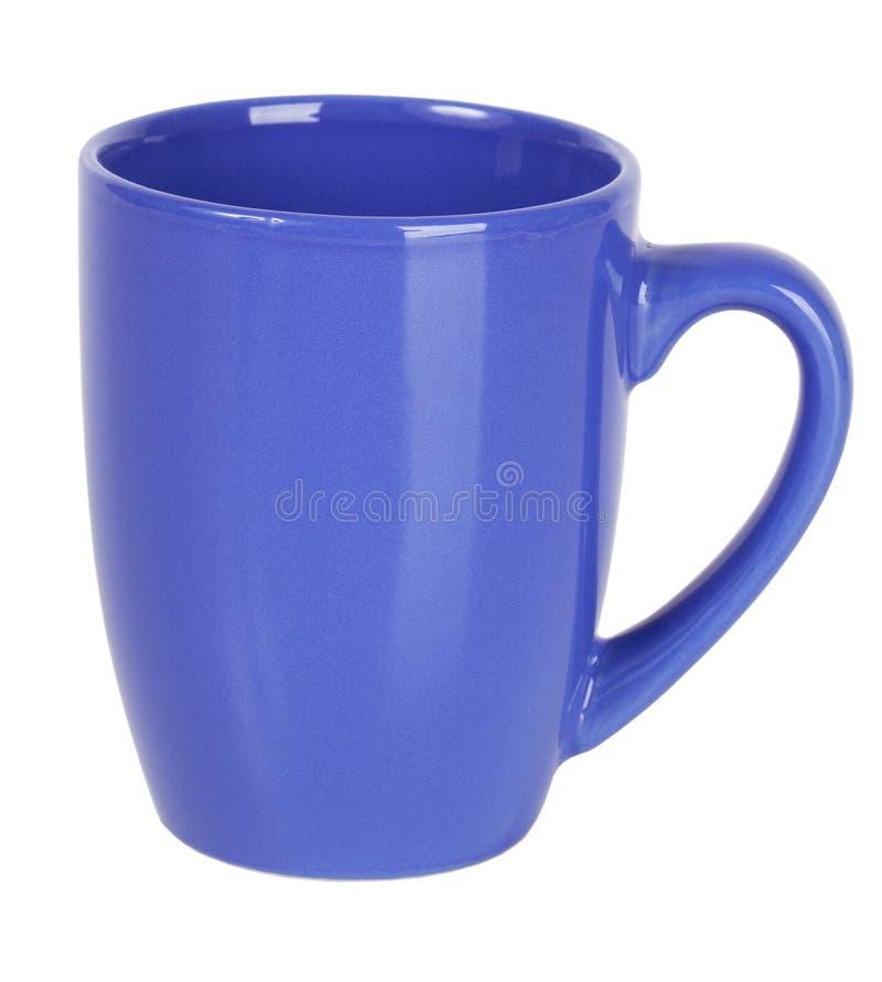 Purpurrotes keramisches Cup lizenzfreies stockfoto