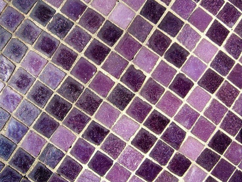 Purpurrotes Mosaik stockfotografie
