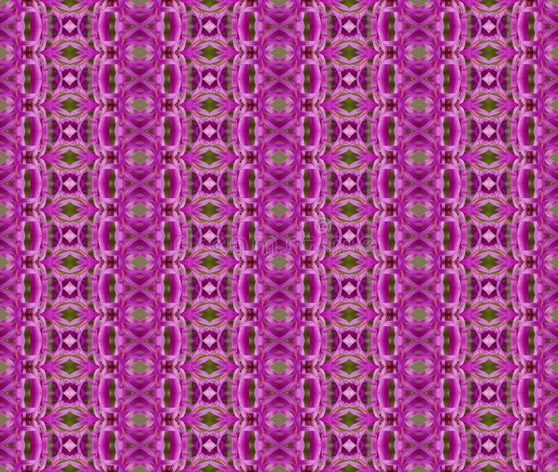 Purpurrotes Muster stockbilder