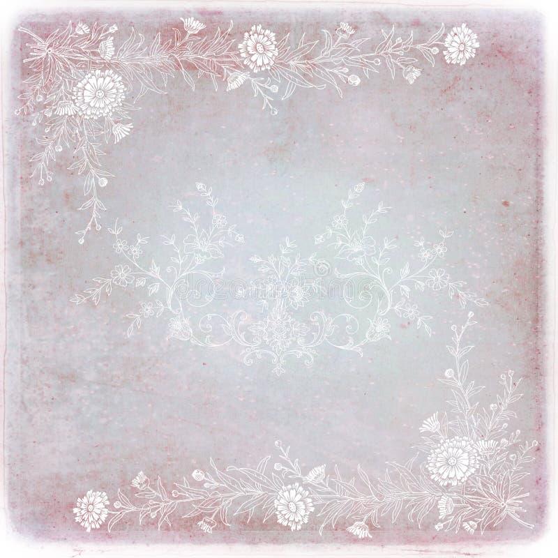 purpurt romantiskt symbol stock illustrationer