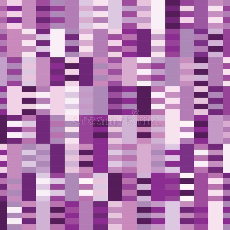 Purpury brzmienia wzoru kwadrata tło royalty ilustracja