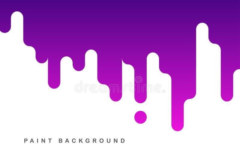Purpury farby sztandaru tło ilustracji