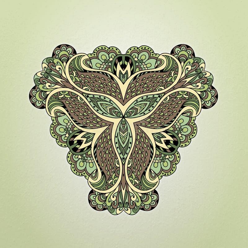 Purpury ornamentują, raster royalty ilustracja