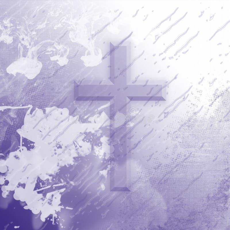 purpury przecinający splatter ilustracji