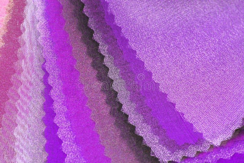 Purpury różowy organza zdjęcie stock
