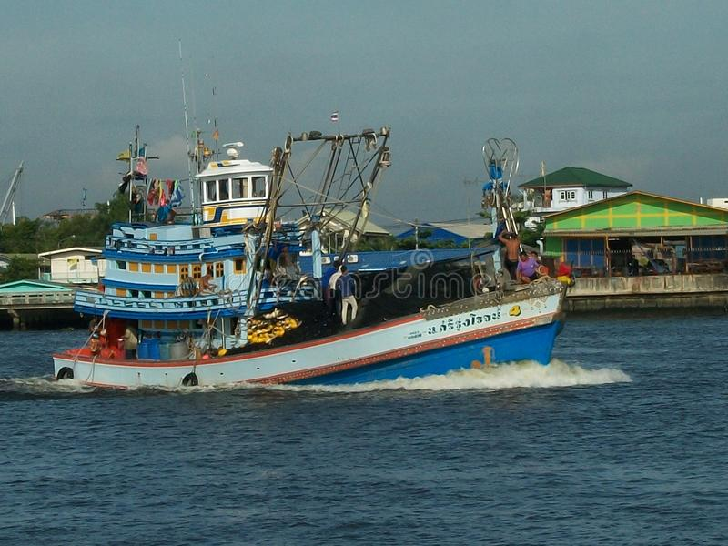 Purse seine fishing boat editorial photography image of for Purse seine fishing