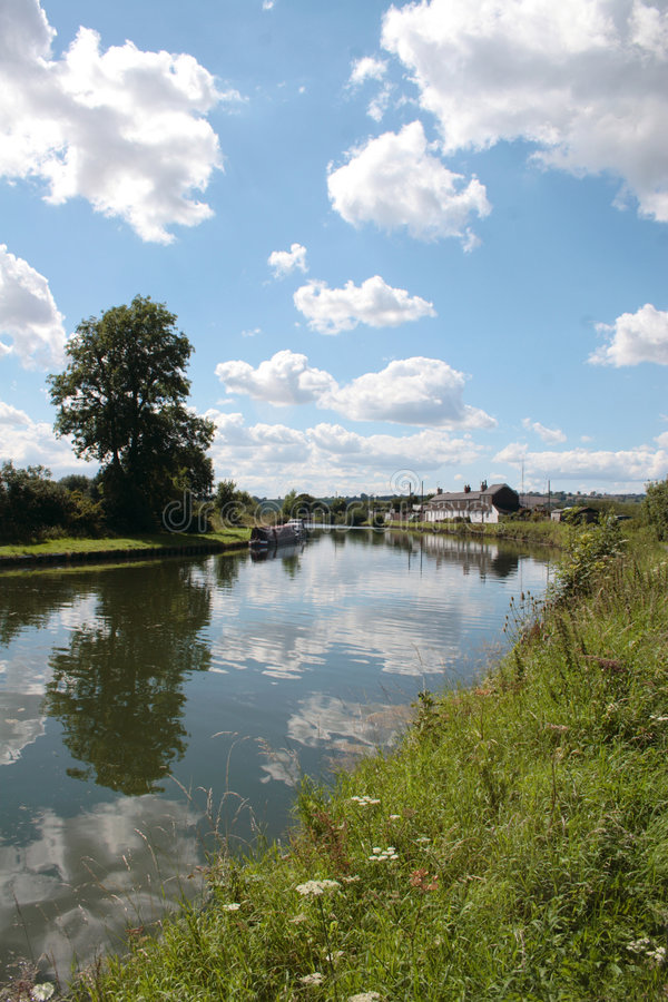 Purton Canal, England stock image