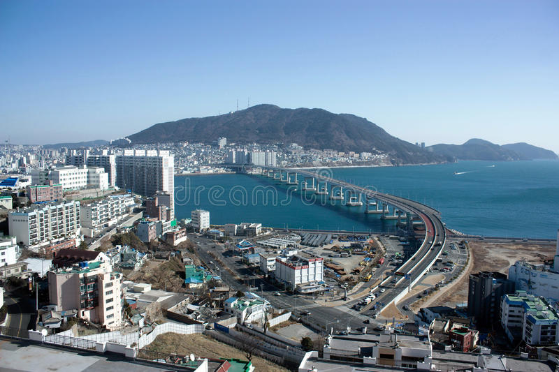 Download Pusan Bridge editorial stock photo. Image of pusan, noone - 83715983
