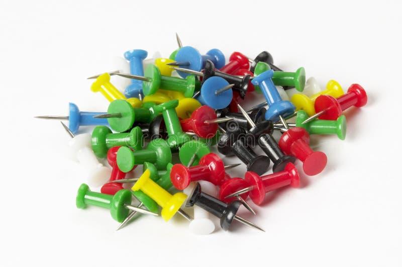 Push Pin Pile Stock Image