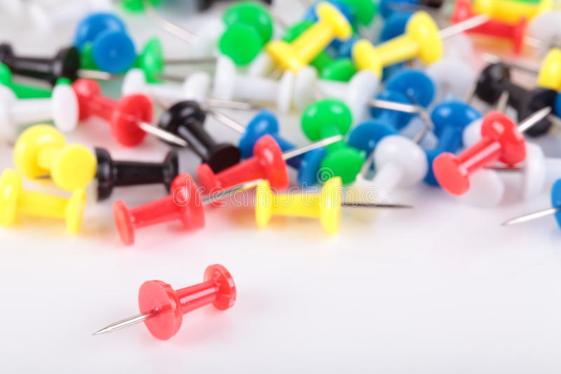 Download Push pins stock image. Image of needle, buttons, multi - 27949623