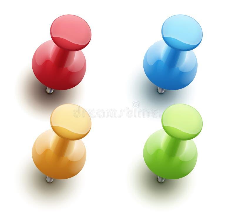 Free Push Pins Royalty Free Stock Photos - 27964558