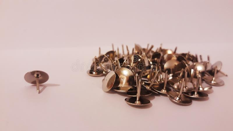 Push pins. Picture of push pins stock photos