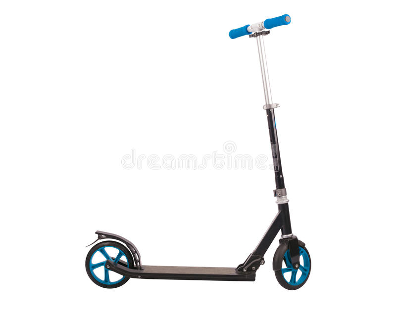 Push Scooter royalty free stock photo