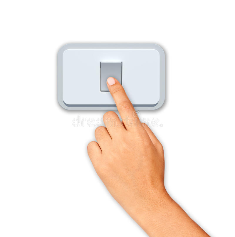 Download Push switch stock illustration. Image of stop, switch - 24002535