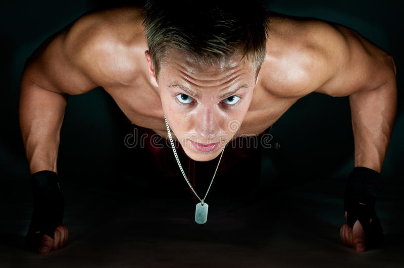 Push-up lizenzfreies stockfoto