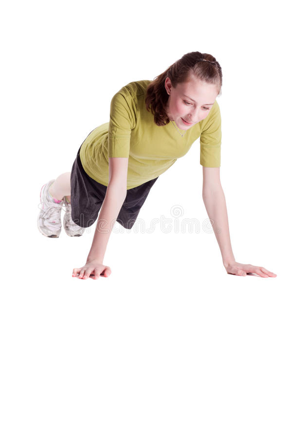 Download Push Ups stock image. Image of thin, athletic, mobile - 13530699