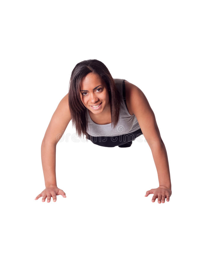 Download Push ups stock photo. Image of happy, dress, looking - 13673440
