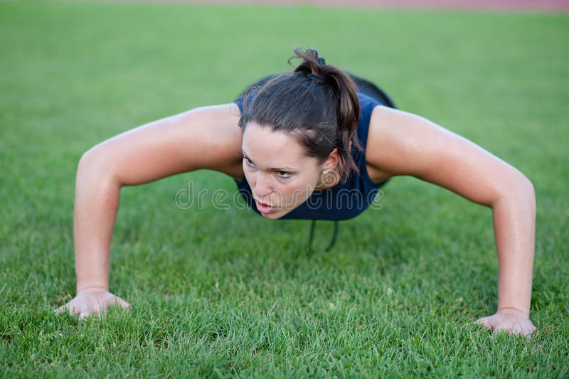 Download Push ups stock image. Image of nature, pretty, leisure - 14470177