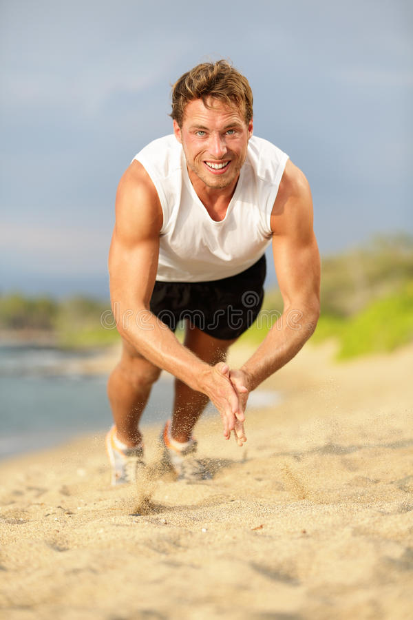 Download Push Ups - Crossfit Fitness Man Clapping Push-ups Stock Photo - Image: 30674490