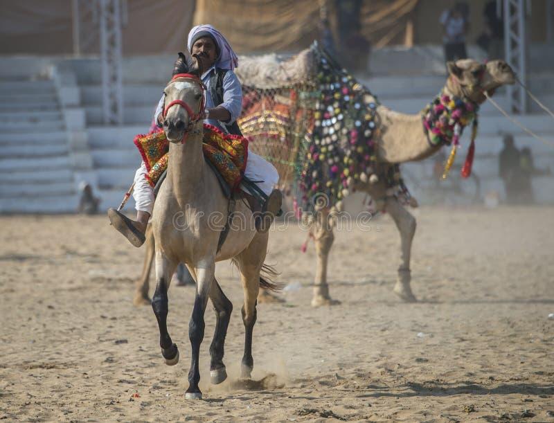 Pushkar φεστιβάλ-Ινδία στοκ φωτογραφία με δικαίωμα ελεύθερης χρήσης