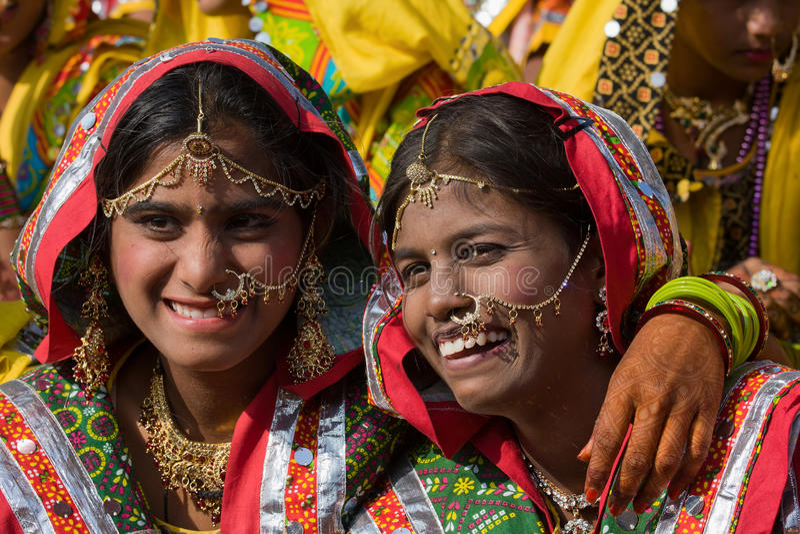 Pushkar (chameau Mela de Pushkar) Ràjasthàn juste, Inde image libre de droits