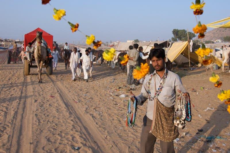 Pushkar, Indien - November 2011 lizenzfreie stockfotos