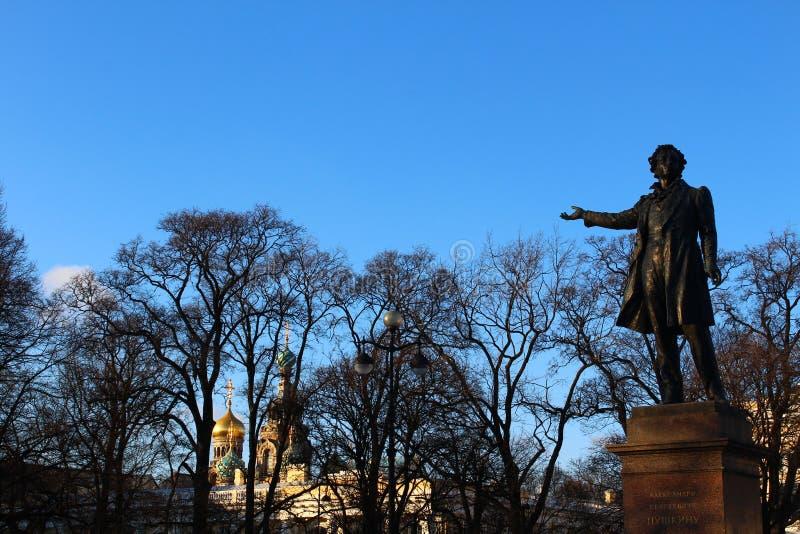 Pushkin A C immagini stock