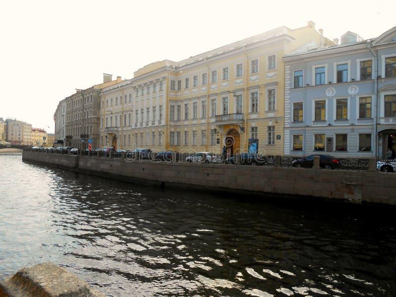 Pushkin lägenhet Museum, St Petersburg arkivfoton